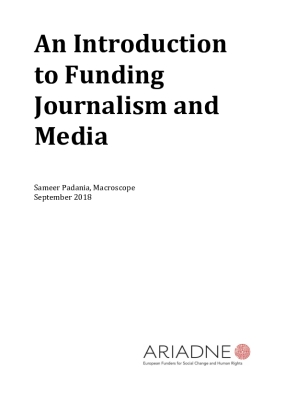 An Introduction to Funding Journalism and Media