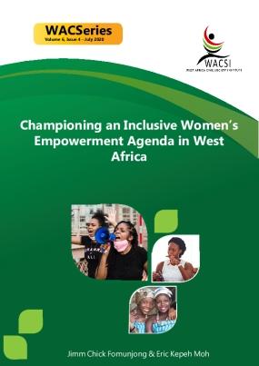 Championing an Inclusive Women's Empowerment Agenda in West Africa