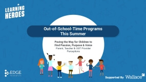 Out-of-School Time Programs This Summer: Paving the Way for Children to Find Passion, Purpose & Voice - Parent, Teacher & OST Provider Perceptions
