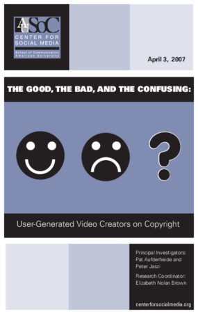 The Good, the Bad, and the Confusing: User-Generated Video Creators on Copyright